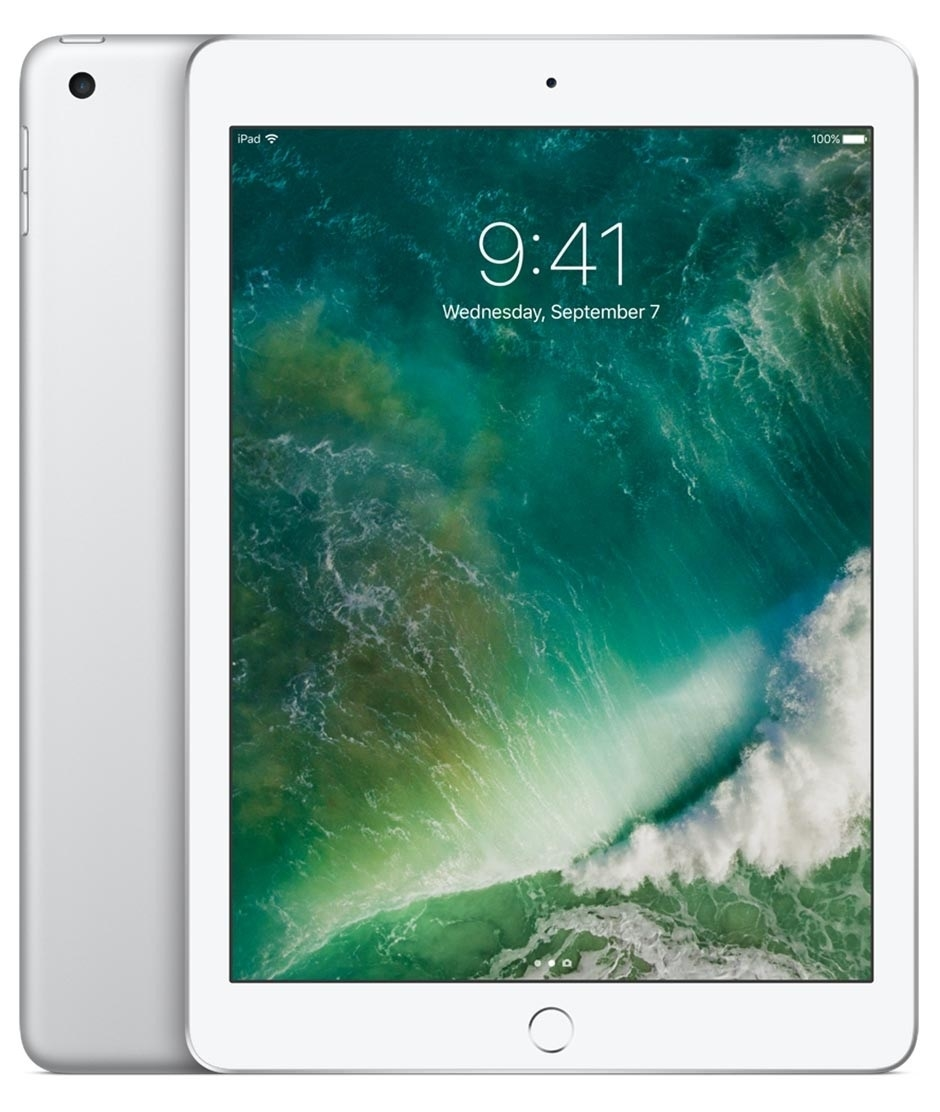 "Apple iPad 9,7"" (2017) 32GB Cellular ezüst tablet"