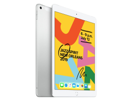 "Apple 10,2"" Ipad (2019) 32GB Wi-Fi + Cellular Ezüst"